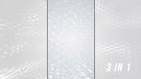 White Abstract Ripples