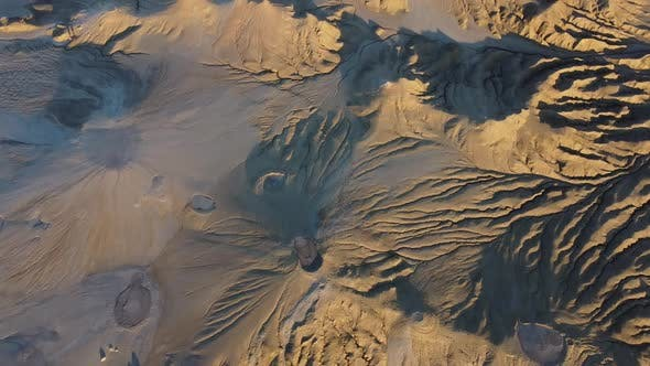 Volcanoes Craters Aerial View