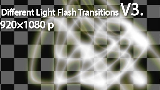 Thumbnail for Light Flash Transitions V3