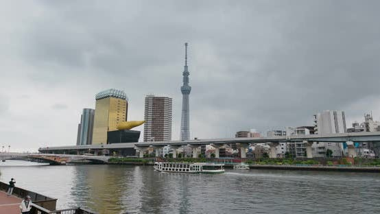 Cover Image for Tokyo city with skytree
