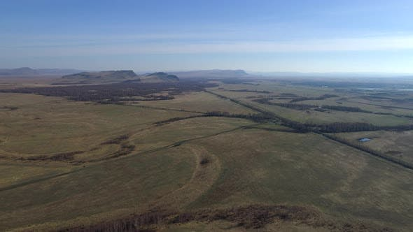Thumbnail for Aerial View of Steppe Khakassia