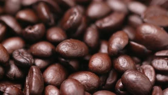 Grain de café torréfié