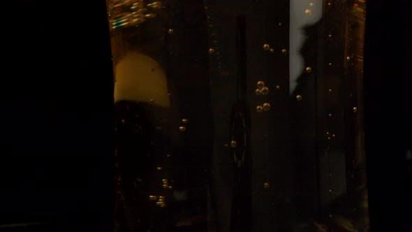 Luftblasen in Frischbier