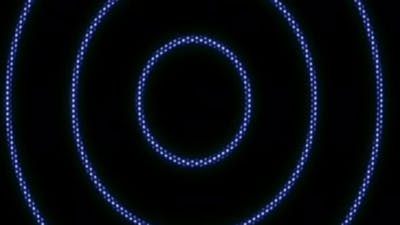 Color Circles on the Digital Screen