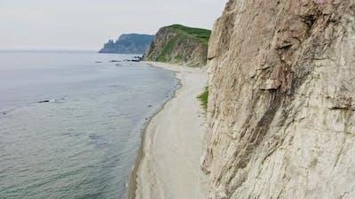 Baluzek Peninsula on the Coast of the Sea of Japan