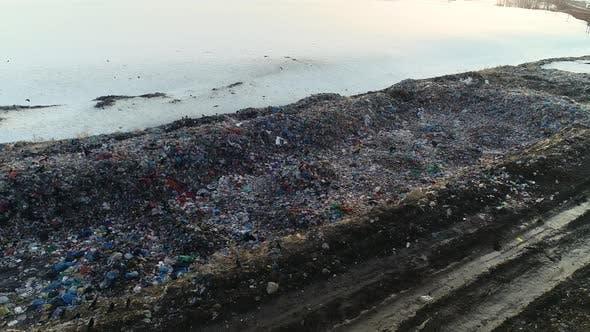 City Dump at Sunset