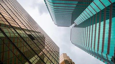 Skyscraper in Hong Kong
