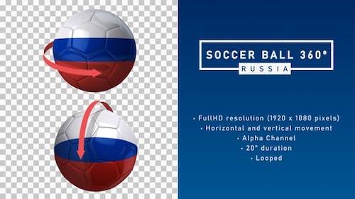 Soccer Ball 360º - Russia