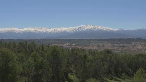 Berge von Guadix und Sierra Nevada