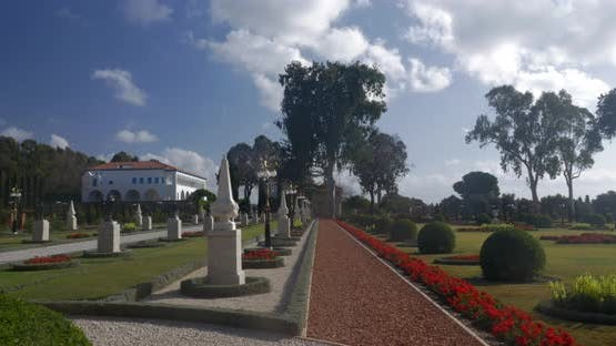The Mansion of Bahji in Bahai garden Acre, Israel