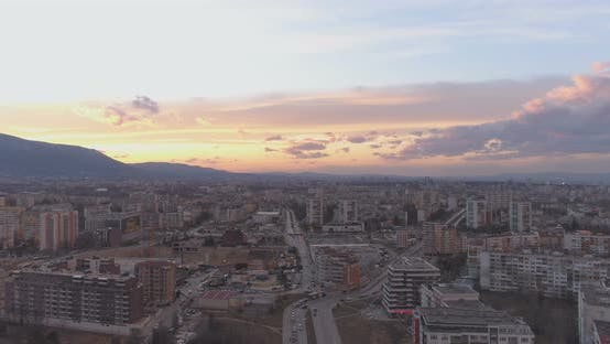Thumbnail for Neighbourhood in Sofia Bulgaria with Tall Residential Buildings