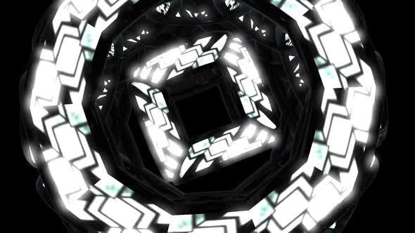 VJ Loops Neon Circles