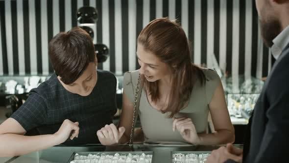 Thumbnail for Women Shopaholics in Jewelry Shop
