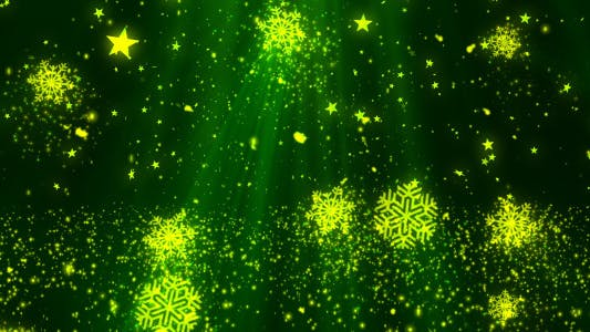 Thumbnail for Christmas Snow Flakes Glitters 1
