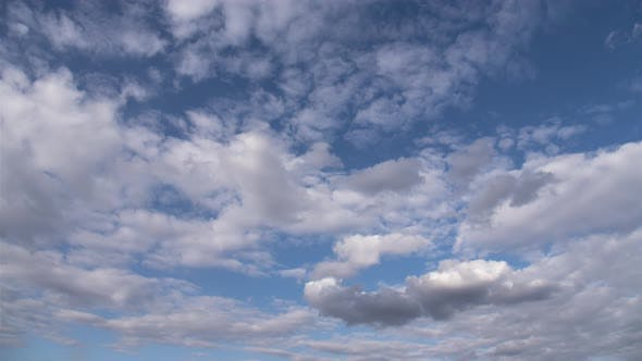Thumbnail for Blurry blue sky and white cloud background for creative creativity.