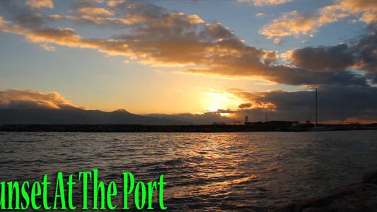 Thumbnail for Sunset At The Port