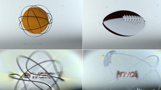 Thumbnail for Sport Logo Reveler (American Football\Basketball)