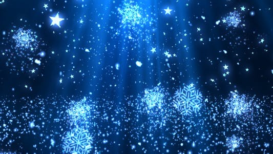 Thumbnail for Christmas Snowflakes Glitters 2