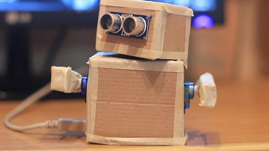 DIY Cardboard Paper Robot