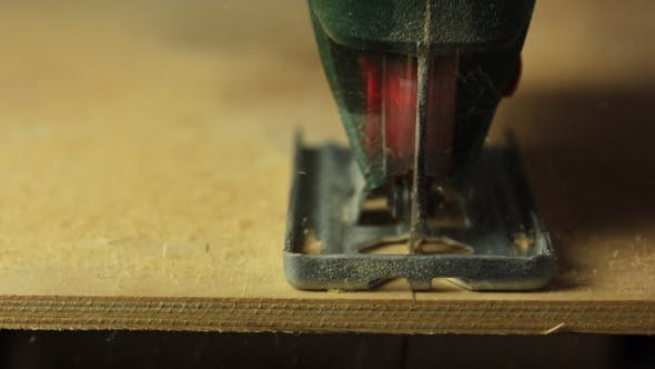 Thumbnail for Electric Fretsaw