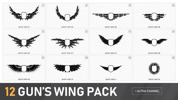 12 Guns Wing Border Pack