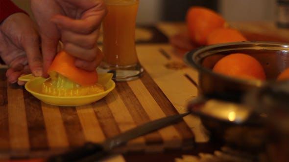 Manual Orange Squeeze