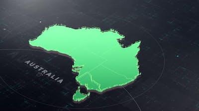 Digital Tech Australia Map