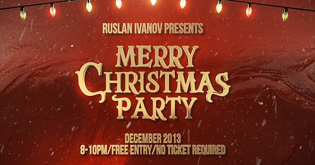 Download Merry Christmas Party Teaser by ruslan-ivanov