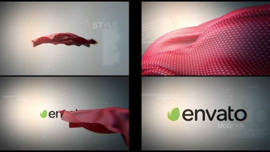 Thumbnail for Floating Cloth Logo Revealer