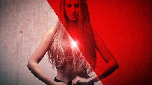 Red Slideshow