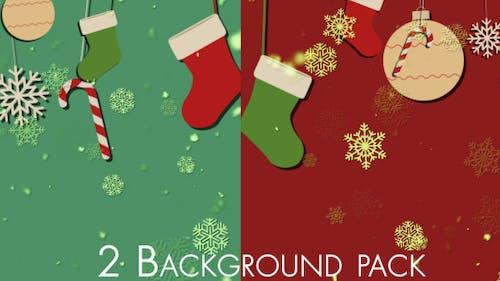 Christmas Bg Pack