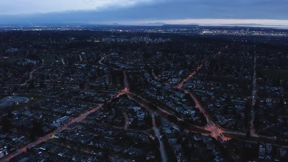 Thumbnail for Illuminated City Seen From Above