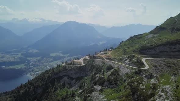 Thumbnail for Aerial View of Loser Panoramic Road, Austria