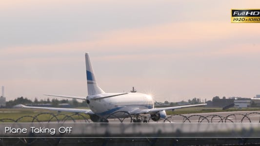 Cover Image for Plane Taking Off