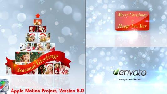 Thumbnail for Christmas Greetings - Apple Motion