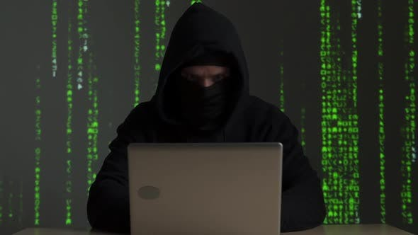 Hacker Internet Computer Crime Cyber Attack Network Security Programming Code Password Protection
