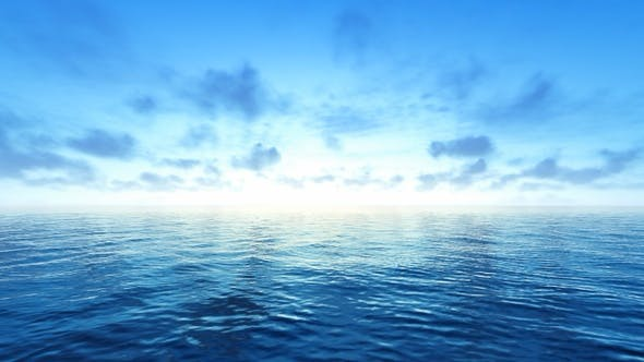 Cover Image for Blue Ocean and Sky