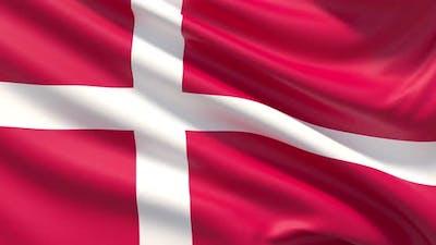 The Flag of Denmark