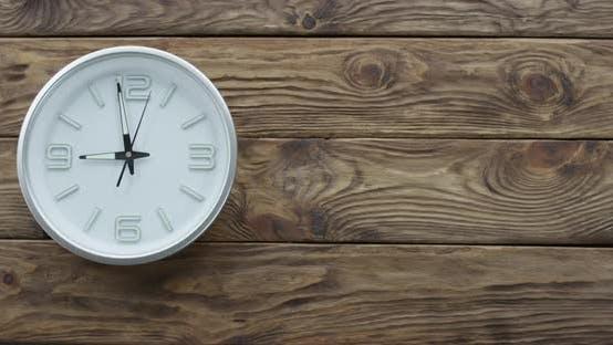 Thumbnail for Timelapse of Clocks Showing Nine