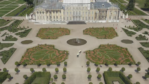 Thumbnail for Flower French Baroque Gardens With Royal Palace, Rundale Latvia