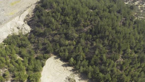 Thumbnail for Feld und Bäume Luftbild 7