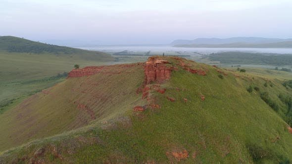 Thumbnail for Flying Drone to Pilot on Red Mountain