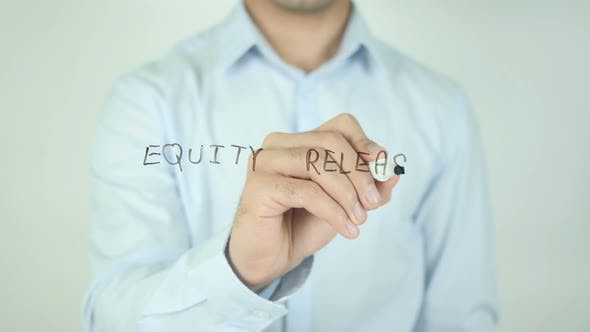 Cover Image for Equity Release, Writing On Screen