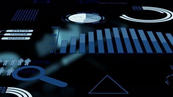 Finance Corporate Business Data Charts Graphics