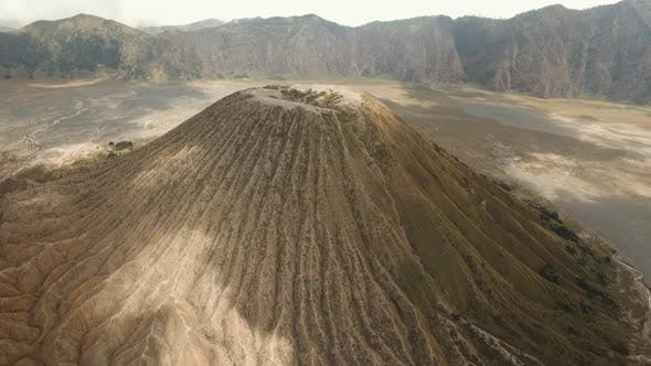 Thumbnail for Volcano with a Crater. Jawa, Indonesia