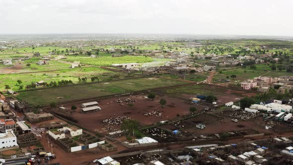 Thumbnail for Africa Mali Village And Ox Aerial View 3
