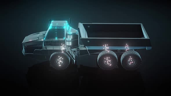 Articulated Truck For Mining Hd