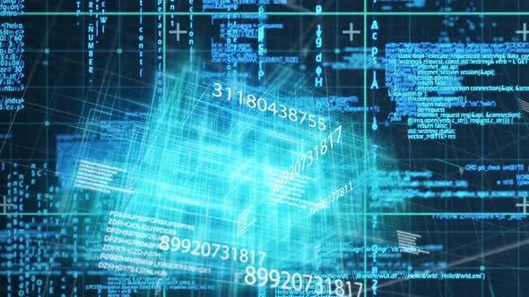 Rendu réseau de code numérique