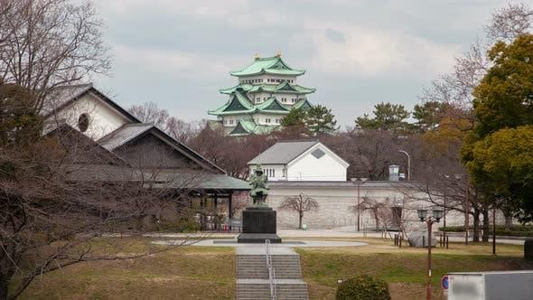Thumbnail for Nagoya Castle and Kiyomasa Kato Monument Timelapse