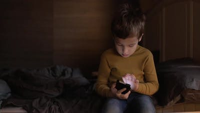 Child Controlling Cellphone with Voice